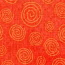 Ponytail 1 - 123 Orange Swirl