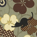 Bouffant - 146 Cats in Clover Brown